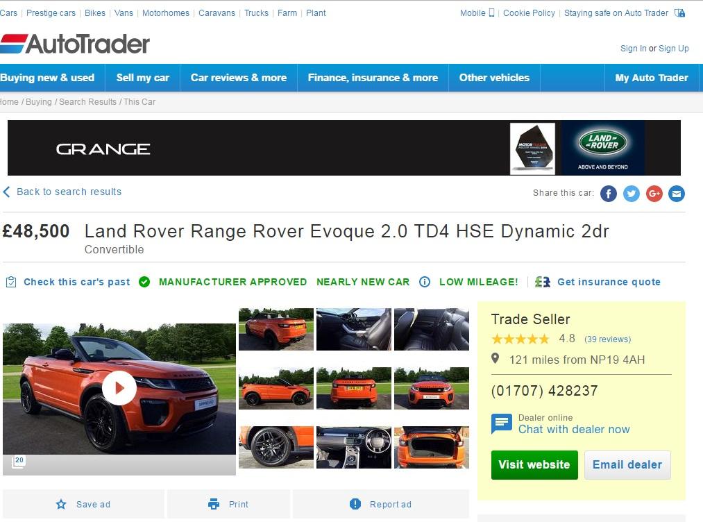 AutoTrader video best practice » AutoTrader best practice video help
